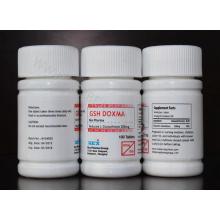 Suplemento alimentar Glutathione Tablet para Whtiening pele