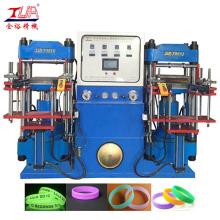 Monochrome Silicone Bracelet Press Making Machine