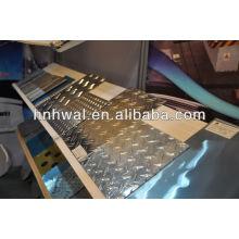 2 barres feuille de damier en aluminium