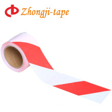 100m red and white pe warning tape