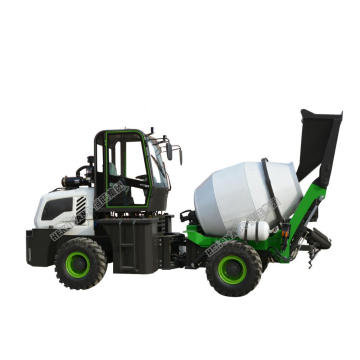 Mixer Beton 1.2l Mobile dengan Pompa di India