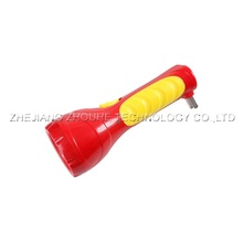 rechargeable plastic LED torch