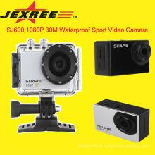 JEXREE SJ600 videocámara profesional WiFi acción de la cámara de deporte 1080p hd completo 1080p cámara portátil de coche