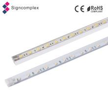 Signcomplex 2016 Novo Rígido LED De Alumínio Luz de Tira LEVOU Barra de Luz para o Quadro de Avisos