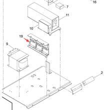 Controlador de motor Panasonic SMT para la impresora de pantalla Sp60p-M (N510034769AA)