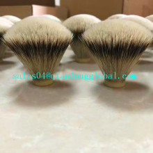 20mm Fan Shape Silvertip Badger Hair Knot