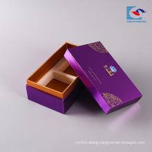 Luxury custom print logo food gift cake box paper cardboard