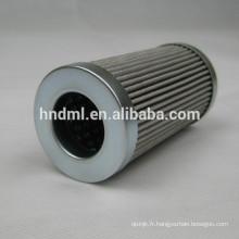 Filtre d'huile hydraulique 3 microns PI3108SMX10, élément de filtre à huile hydraulique PI3108SMX10, filtres PI3108SMX10