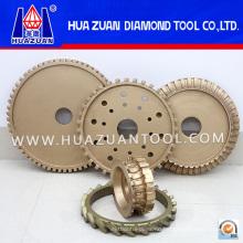Diamond Bullnose Profile Wheel for Stone Polishing