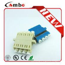 Quad LC Fiber Adapter