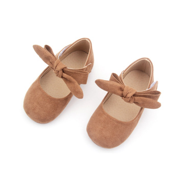 Borracha Baby Party Mary Jane Sapatos com arco