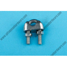 China Manufacturer Rigging Hardware DIN 741 Stainless Steel Wire Rope Clamp