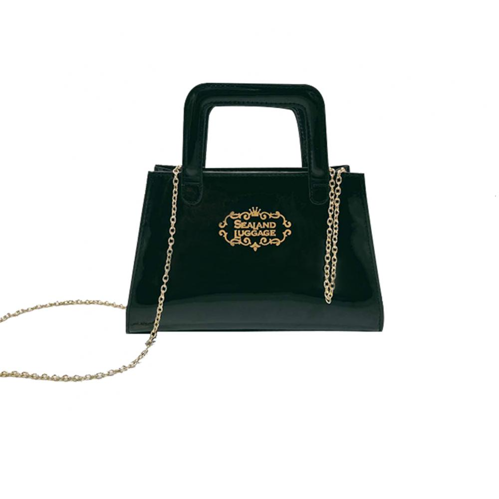 Boutique chain single shoulder handbag