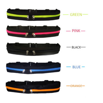 Running Bag Outside Sport Mobile Phone Waterproof Mobile Phone Belt Fanny Pack Waist Bag