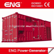 50Hz series 1000kva power plant generator with Cummins engine KTA38-G5