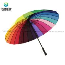 Promotion Printing Rainbow Fashion Umbrella
