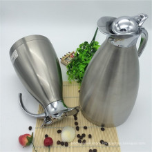 Widely Used Double Wall Vacuum Thermos Hot Water Kettel /Pot Jug with Button Lid