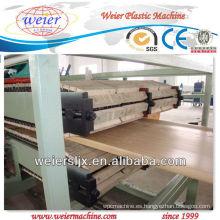Panel de puerta de PVC de 1200m de ancho que hace la máquina