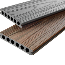 Terrase Exterior Deck Waterproof Composite Plastic Wood Floor WPC Composite Co-Extrusion Decking