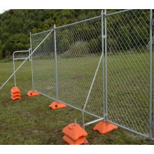 Woven Wire Mesh Temporary Fence