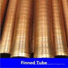 Tubo de aleta baja de cobre C10200 C12200 de la fábrica de China