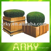 Outdoor Flower Wood Planters