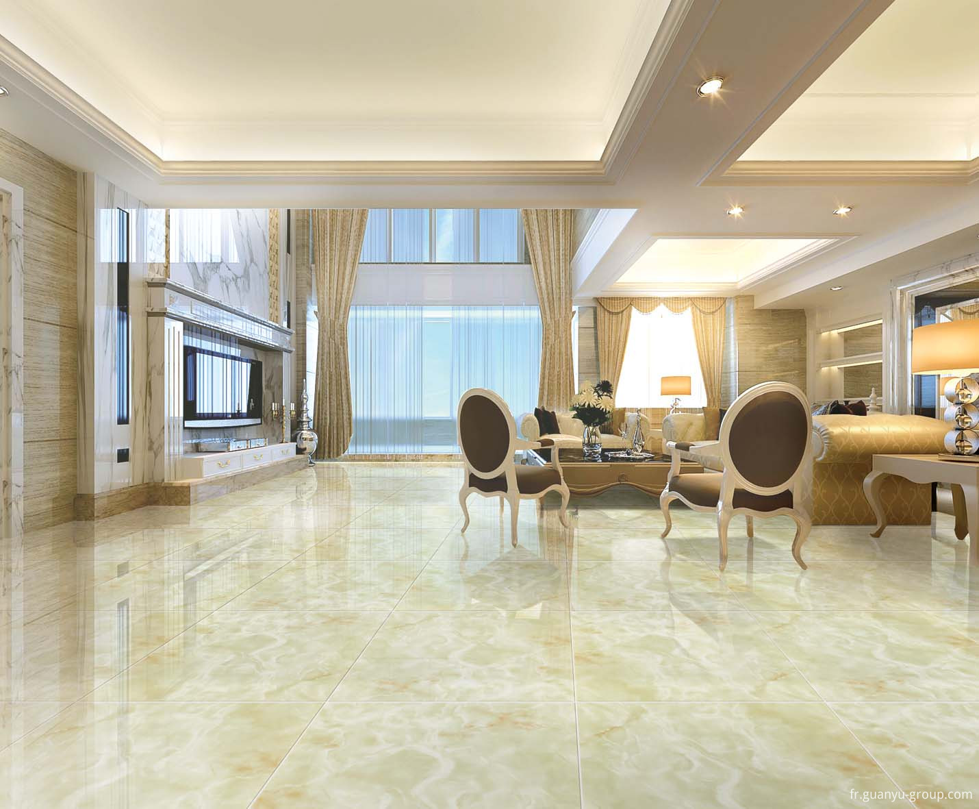 Micro Crystal Composite Porcelain Tile