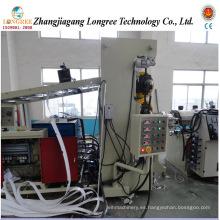 Línea de producción de láminas suaves de PVC