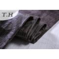 Gamuza negra tela del sofá del fabricante