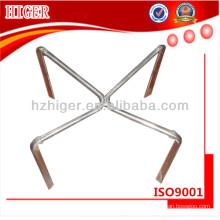 peças de base de cadeira giratória de alumínio