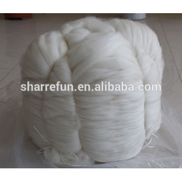 Combed Chinese Cashmere Tops White 16.0mic 46mm