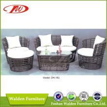 Sofá de ratán de muebles de mimbre (DH-183)