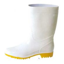 White Men's Oil Resistant Pvc Boots