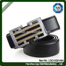 Top Selling Alloy Buckle Real Leather Man Cintura Cintura Moda / cintos de couro cinto de couro para homens