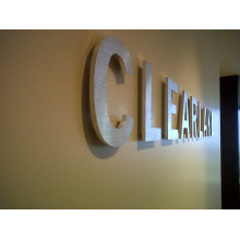 3D Stainless Steel Letters for Indoor (ID-08)