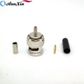 Wholesale High Quality BNC Male Connector Crimp BNC Pin Connector For RG179 Cable