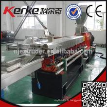 PP / PE / CaCo3 compresseur machine de granulation en plastique