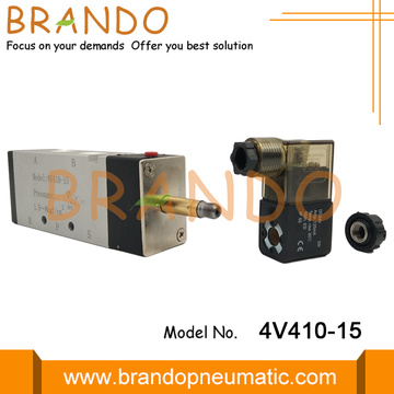 4V410-15 1/2 '' Single Solenoid Air Control Valve