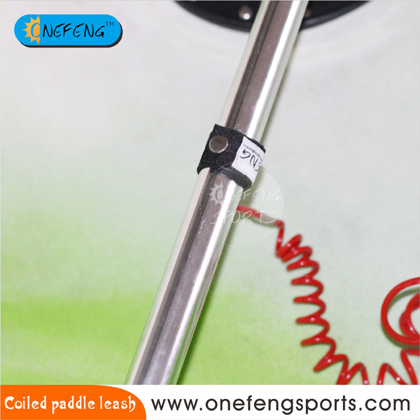 Rote Coiled Paddle Leine