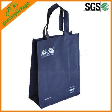 saco de compras não tecido de tamanho médio personalizado (PRA-670)