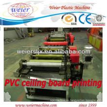 Impresión a color para máquina de paneles de techo de PVC