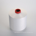 polyester with spandex air covered 150D/48F+20D to make denim fabric