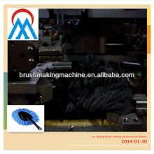 Máquina de fabricación de cepillo de limpieza de coche suave plumero de fregona de lavado de microfibra con cera
