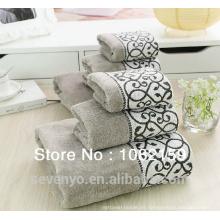 Conjunto de toallas de hotel de lujo 100% algodón