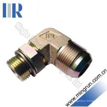 90 Elbow Jic / Connecteur de tube d'adaptateur hydraulique mâle métrique (1JH9-OG)
