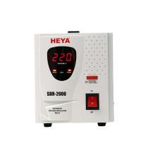 SDR Refrigerator use Relay Type Single Phase 220V AC Automatic Voltage Regulator Stabilizer 2kva