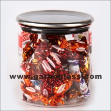 Pot de rangement, Pot de sucre, Cruet, Pot d'épice, Pot en verre (GB-8398)