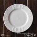 16PCS Embossed Ceramic Porcelain Dinner Set
