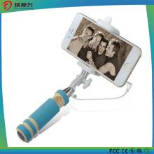 2016 Preço de Fábrica Com Fio Selfie Stick Selfie Monopé