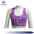 Cetak Kustom Bra Crop Top Sublimasi